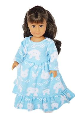 Brittany's Bunny Nightgown Compatible with American Girl 6 I