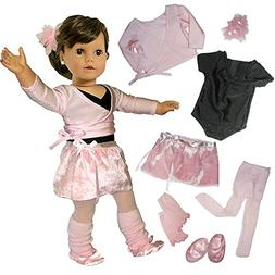 Sophia's Doll Clothing for 18 Inch Dolls, Complete 7 Pc. Dol