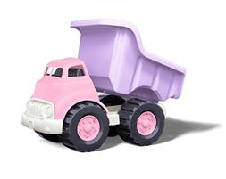 Green Toys Dump Truck in Pink Color - BPA Free, Phthalates F