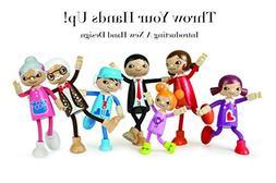 Hape Modern Family 5 Bendable Wooden Doll Set
