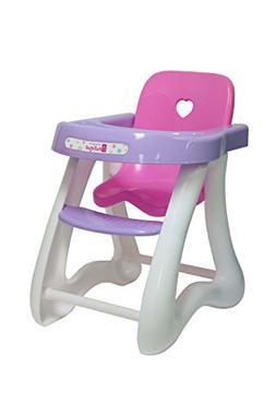 JC Toys for Keeps-High Chair for Dolls