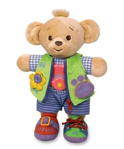 "Learn to Dress Doll Bear - 12"""