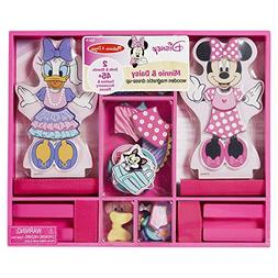 Melissa & Doug Disney Minnie Mouse and Daisy Duck Magnetic D