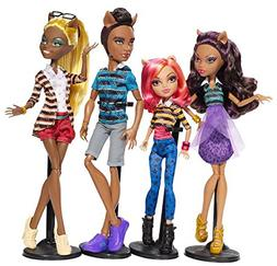 Monster High A Pack Of Trouble Wolf Family 4 Doll Set