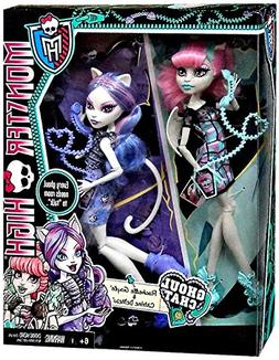 Monster High Ghoul Chat Doll 2-Pack Rochelle Goyle & Catrine