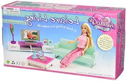 My Fancy Life Barbie Size Dollhouse Furniture- Family Room