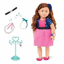 "Our Generation Aura-Jewelry 18"" Doll"