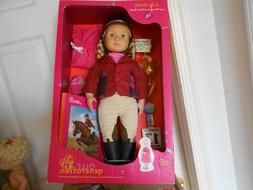 Our Generation Lily Anna Poseable Deluxe Doll Set with Ridin