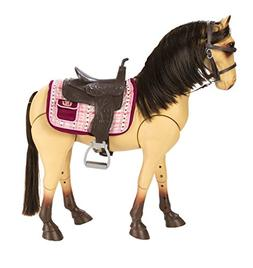 """Our Generation Poseable Morgan Horse For 18"""" Dolls"""