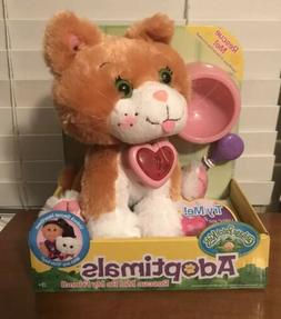 Cabbage Patch Kids Adoptimals Plush Tabby Kitty Cat NEW IN O