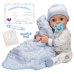 Adora Adoption Handsome Baby Doll, 7 Piece