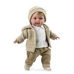 Brittany's Ann Lauren Dolls16.5 Inch Baby Boy Doll with Soun