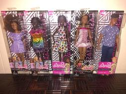 AFRICAN AMERICAN/BLACK..KEN...BARBIE...FASHIONISTA DOLLS...M