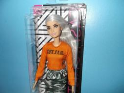 $ALE*GORGEOUS FACE*BARBIE FASHIONISTA*107*GREY HAIR*SHAVED H