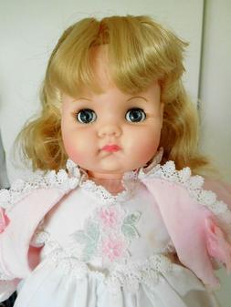 "Alexander 17"" Puddin' Vinyl Baby in Nightgown & Bed Jacket"