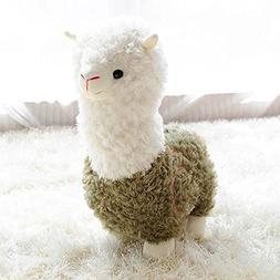 BeCol Alpaca Plush Toy, 11 Inches Cartoon Fabric Llama Stitc