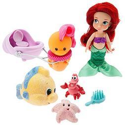 Disney Animators' Collection Ariel Mini Doll Play Set - 5 In