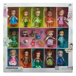 Disney Store Animators' Collection Mini Doll Gift Set 5'' Au