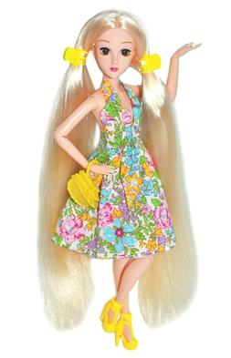 Eledoll Antheia Poseable Fashion Doll Very Long Hair 3D Eyes