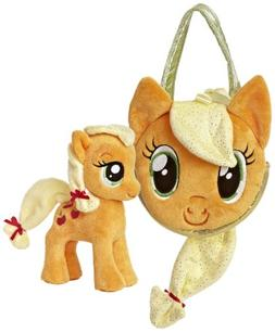 Applejack My Little Pony Pony Tail Carrier 6.5 by Aurora