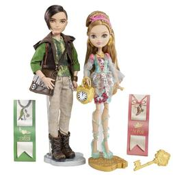 Ever After High Ashlynn Ella & Hunter Huntsman Doll, 2-Pack