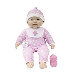 Jc Toys 'lots To Cuddle Babies' Asian 20-inch Purple Soft Bo