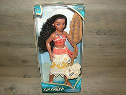"Authentic Disney Store  Moana Classic 11"" Doll *** Damage Bo"