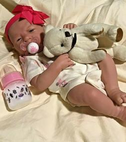 AWW! It's Baby GIRL! Berenguer Life Like Reborn Preemie Paci