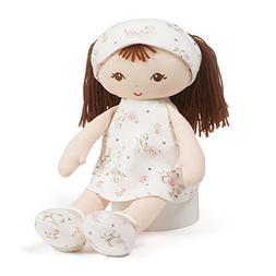 "Baby GUND x Little Me Brunette Stuffed Plush Doll Toy, 13"""