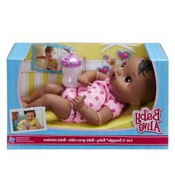 Baby African American Doll Alive Snuggle Soft Cuddle Girls K
