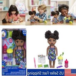 Baby Alive Doll African American That Poops Cloths & Accesso