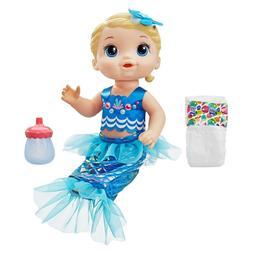 Baby Alive Shimmer  Splash Mermaid -Blond Hair DOLL GIFT FOR