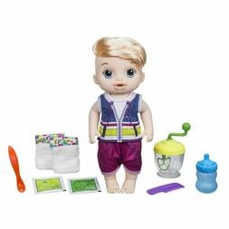 Baby Alive Sweet Spoonfuls Blonde Baby Doll Boy