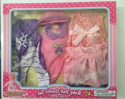 Baby Doll 4 Pc Outfit Set Clothes For Baby Alive Dolls Chris