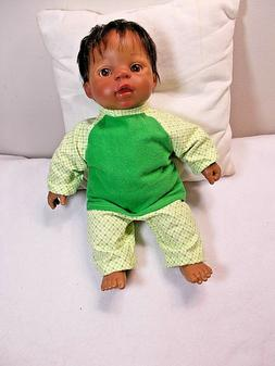 baby doll clothes pajamas boy 13 in