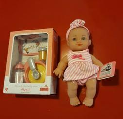 Corolle Baby Doll Set NWT Girl Gift Infant Toddler New Brown