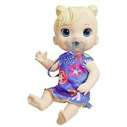 Baby Alive Baby Lil Sounds Blonde Hair Baby Doll, Toy for Ki