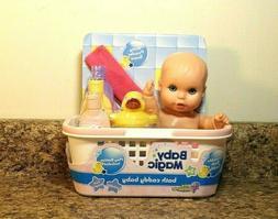 Baby Magic Bath Caddy Doll And Accessory Set NEW