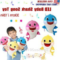 Baby Shark Plush Singing Toys Music Doll English Kids Song G
