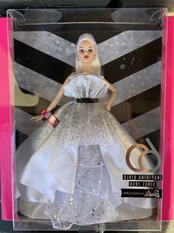 Barbie 60th Anniversary White Blonde Doll 2019 Limited Editi