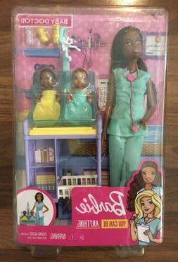 Barbie Baby Doctor You Can Be Anything Doll & Nursery Playse