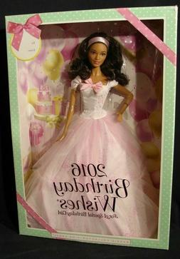 Barbie Birthday Wishes 2016 Barbie Doll Pink Label Brunette