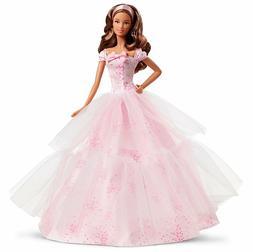 Barbie Birthday Wishes Hispanic Brunette Doll 2016 New in Bo