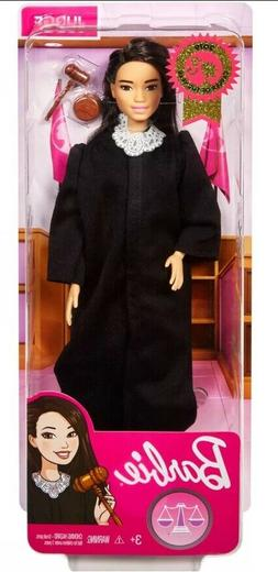 Barbie Career of the Year Judge Doll, Black Hair * RARE * Wh
