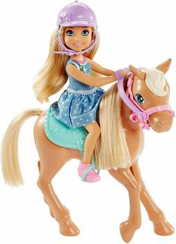 Barbie Club Chelsea Dolls & Horse