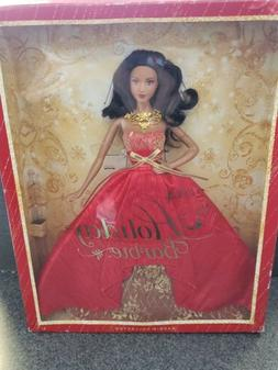 Barbie Collector 2014 Holiday African American Doll Stunning