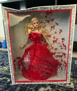 Barbie Collector Doll 2012 Holiday Barbie Blond, brand new