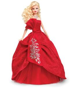 barbie collector holiday 2012
