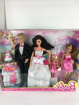 BARBIE DOLL 2013 ONLY AT TARGET Wedding Gift Set Kelly Staci