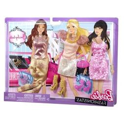 barbie doll 3 outfits